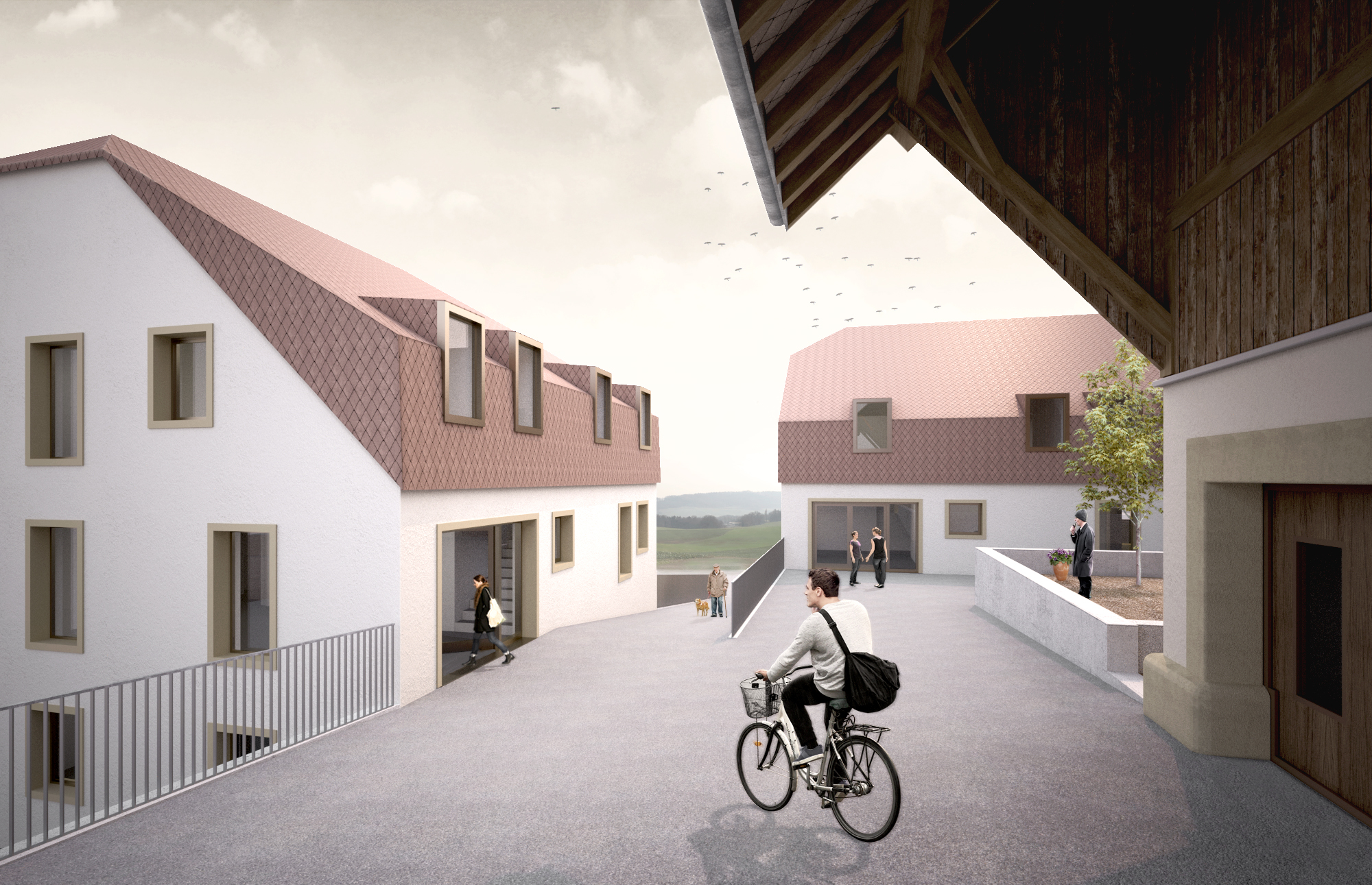 Atelier d architecture jacques ayer fribourg granges paccot